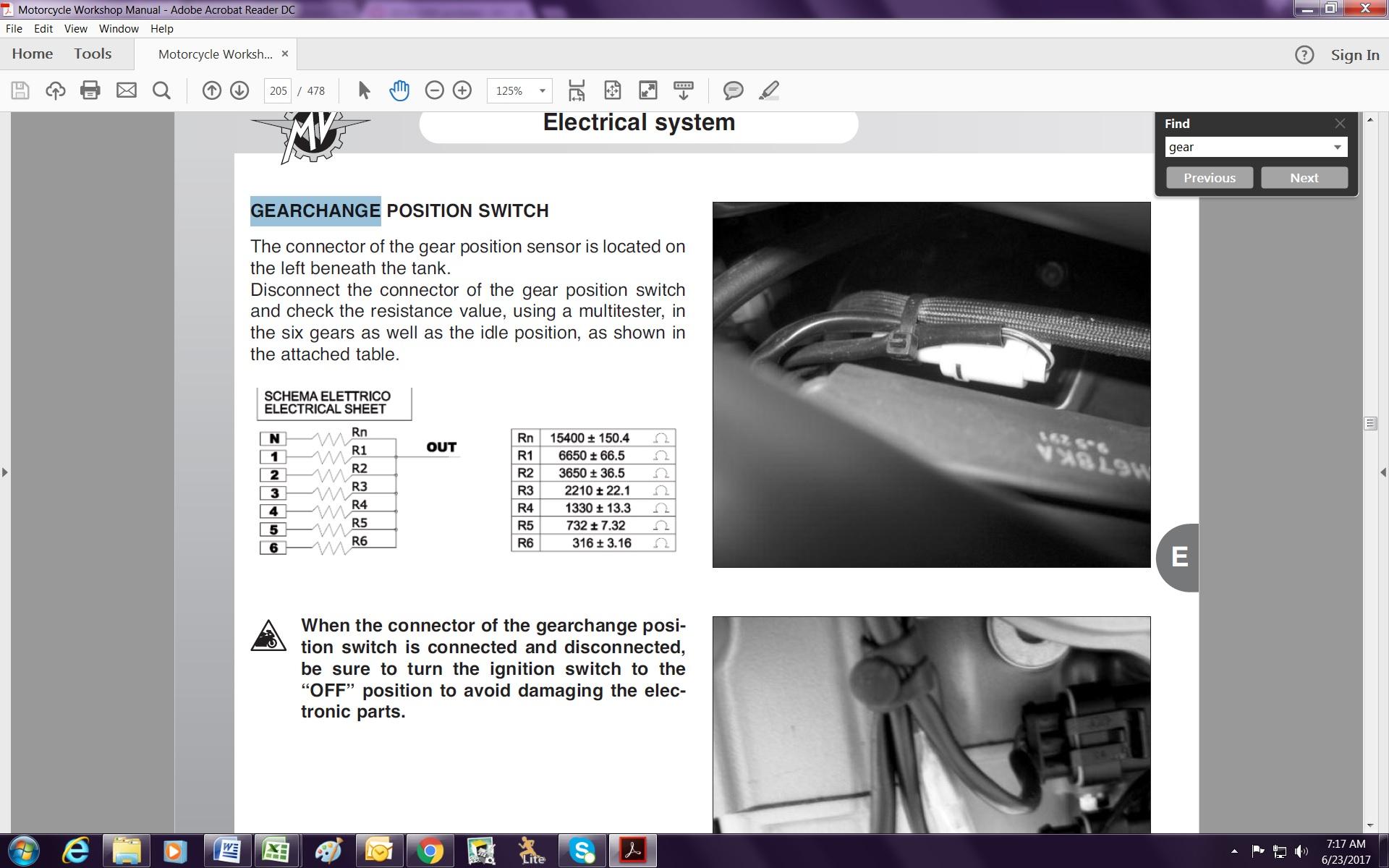 Name:  B4 1090RR Gear Position Switch Testing.jpg Views: 205 Size:  378.7 KB