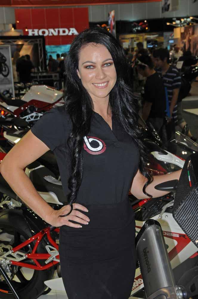 Name:  DSC_2494l  Jolene, Bimota stand, 2012 Melbourne Motorcycle Expo.jpg Views: 397 Size:  80.4 KB
