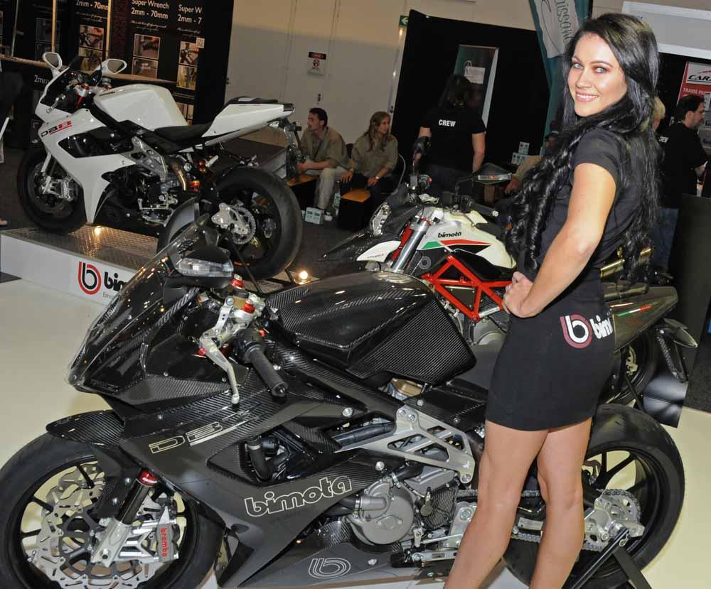 Name:  DSC_2510lc Jolene, Bimota stand, 2012 Melbourne Motorcycle Expo.jpg Views: 790 Size:  127.8 KB