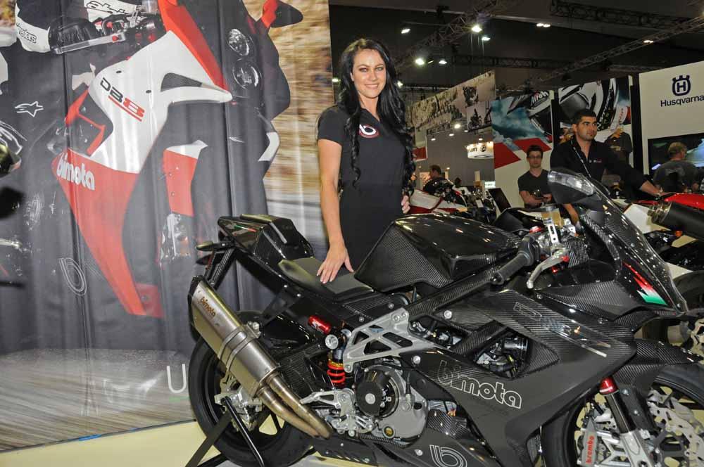Name:  DSC_2511l Jolene, Bimota stand, 2012 Melbourne Motorcycle Expo.jpg Views: 509 Size:  108.5 KB