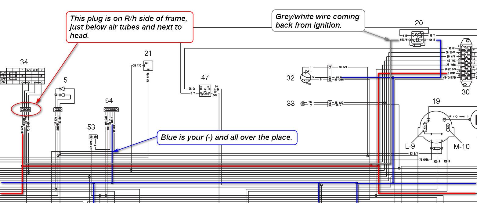 mv agusta brutale wiring diagram new battery in 2006 mv agusta f4 1000s turns over  but tach  new battery in 2006 mv agusta f4 1000s