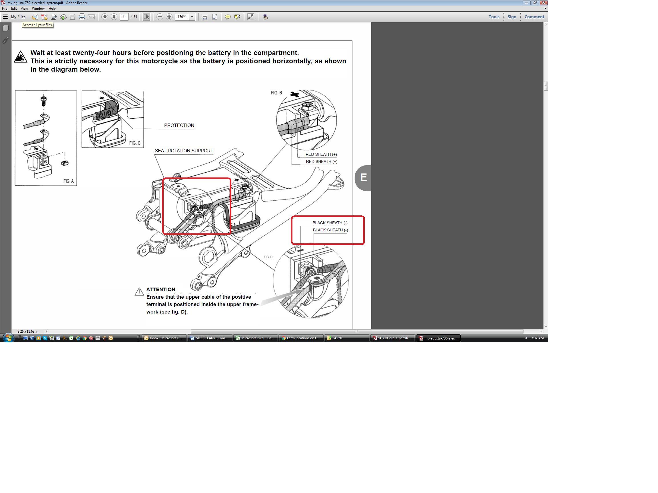 mv agusta brutale wiring diagram earth locations on f4 750 mv agusta forum  earth locations on f4 750 mv agusta forum