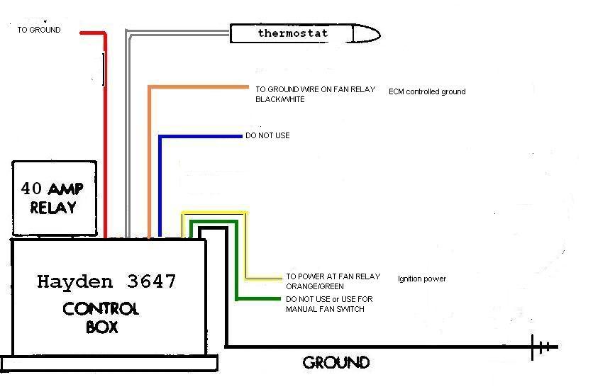 Hayden Fan Relay Wiring Schematics. Relay Ac, Relay