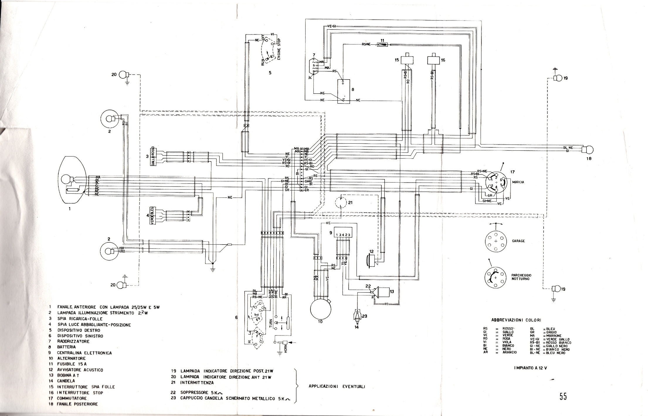 Wanted 125 Sport Wiring Diagram Mvagusta
