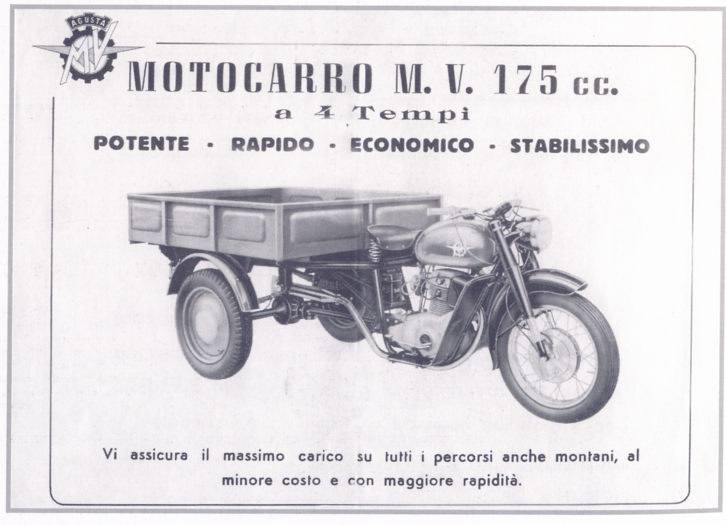 number plate panel, stand for mv 125-175 - page 2 - mvagusta