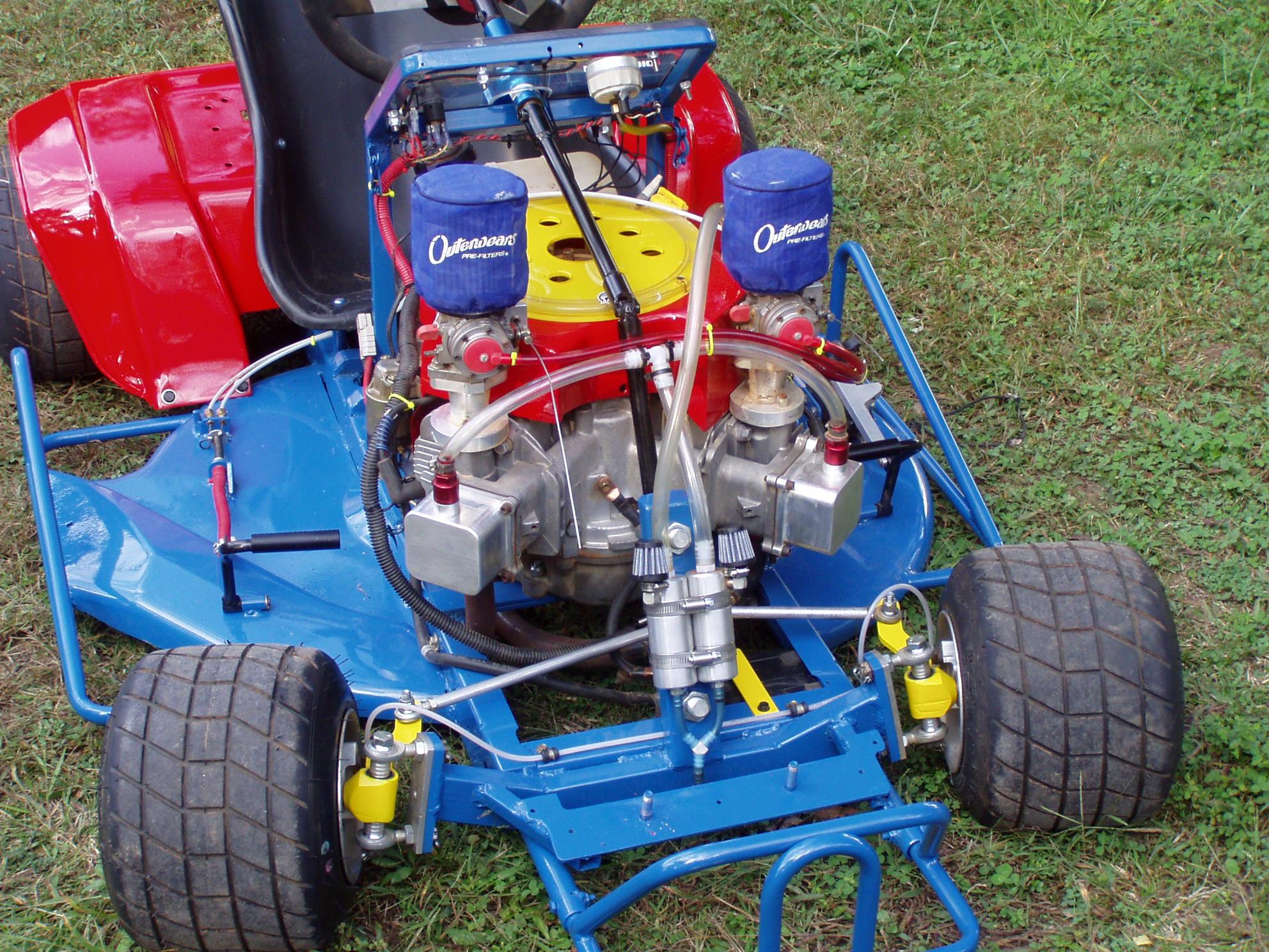 Lawn Mower Racing Inexpensive And Fun Mv Agusta Forum