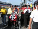 Interview @ Daytona 2004.jpg